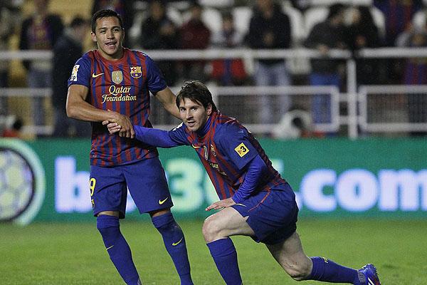 Lionel Messi, Alexis Sanchez